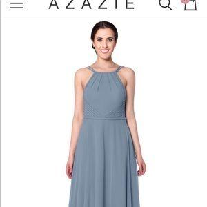 AZAZIE MELINDA DUSTY BLUE SIZE A16